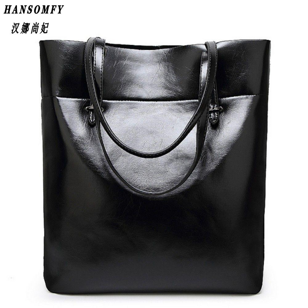 Hnsf 100% cuero genuino bolsos de las mujeres 2017 nueva moda simple diagonal bolso ocasional del mensajero del hombro del bolso