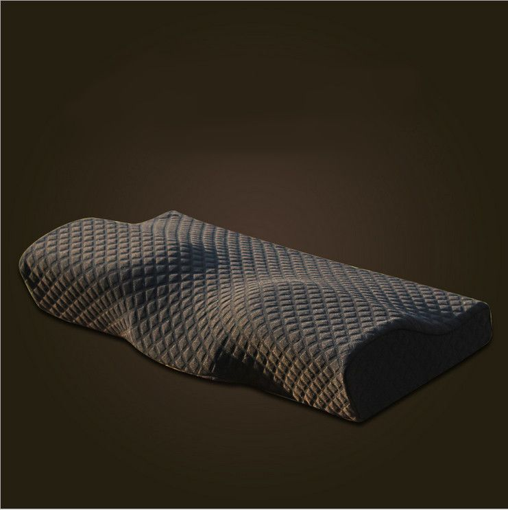 2018 Orthopedic Latex Magnetic 50*30CM Neck Pillow Slow Rebound Memory Foam Pillow Cervical Health Care Pain Release Pillow