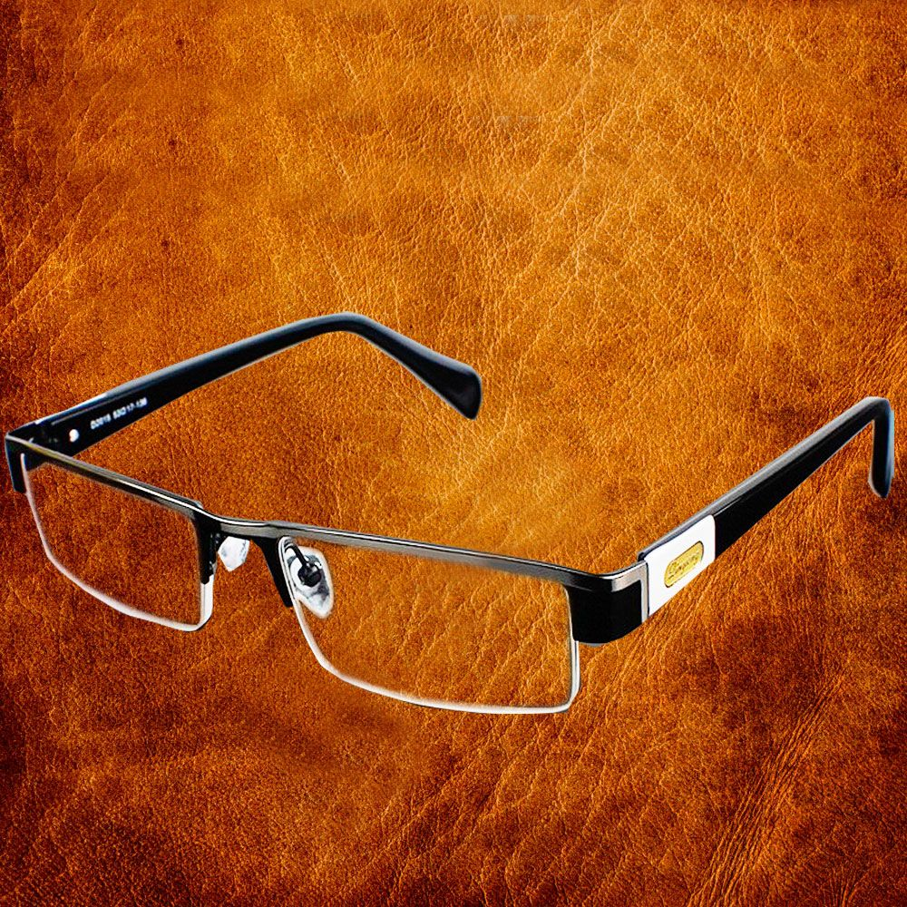 High Quality MEN Titanium alloy Eyeglasses Non spherical 12 <font><b>Layer</b></font> Coated lenses reading glasses+1.0 +1.5 +2.0 +2.5 +3.0 +3.5+4.0