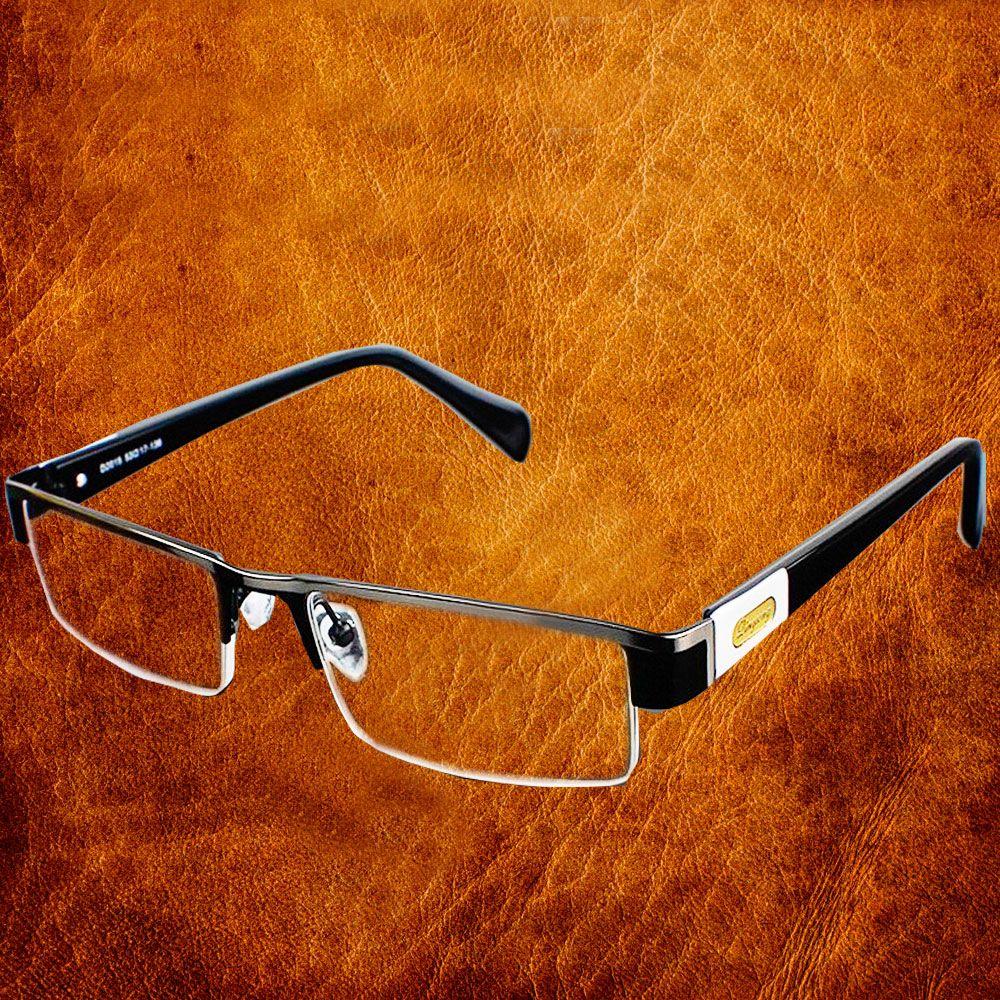 High Quality MEN Titanium <font><b>alloy</b></font> Eyeglasses Non spherical 12 Layer Coated lenses reading glasses+1.0 +1.5 +2.0 +2.5 +3.0 +3.5+4.0