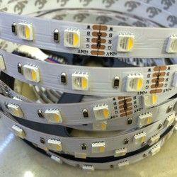 Nouvelle arrivée 4 couleurs en 1 led RGBW LED bande imperméable à l'eau 24 V 12 V 5050 smd 60LED/m 5 m/Roll RGBW LED light strip livraison gratuite