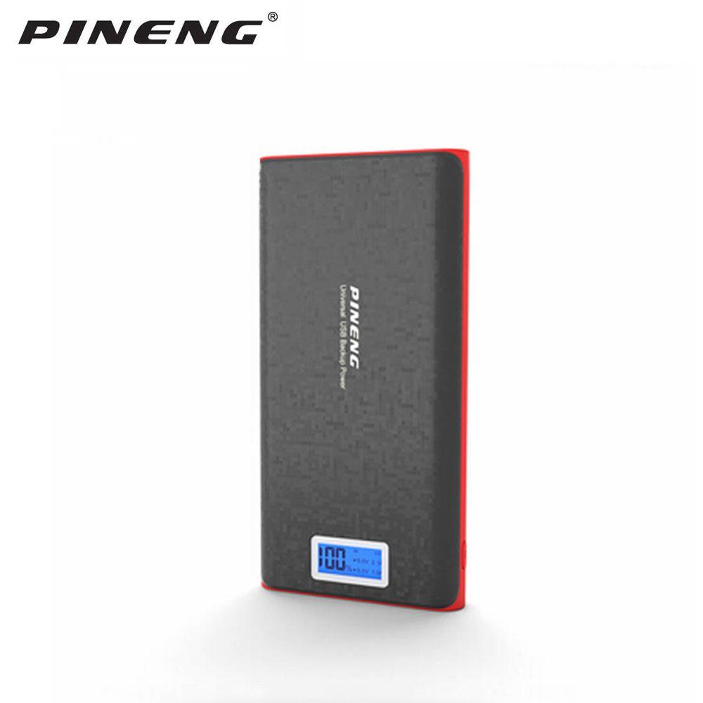 Pineng batterie externe 20000 mah PN920 batterie externe Powerbank avec affichage Led 5 V 2.1A pour iPhone Samsung LG HTC Xiaomi OPPO