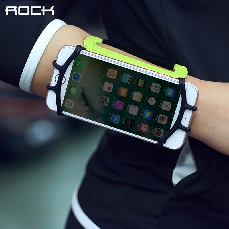 Universal Sports Wristband, ROCK Professional sports Wrist arm band for 4-6 inch phones devices armband