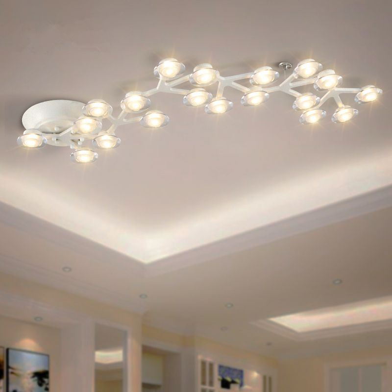 Post-modern LED chandelier ceiling Novelty loft illumination Nordic fixtures home lighting living room lights bedroom lamps