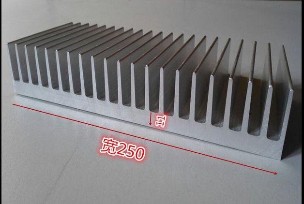 Ship EMS High quality aluminum radiator,aluminum heatsink width 250mm,high 40mm,length 300mm Custom Heatsink 300*250*40mm Cooler
