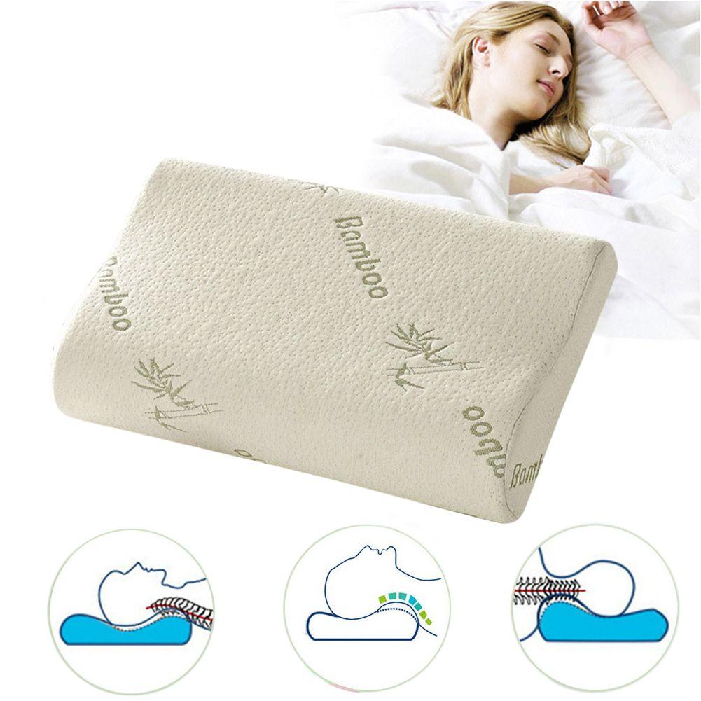 30x50x10cm Orthopedic Cervical Pillow Memory Foam Slow Rebound Neck Relaxing Pillow <font><b>Health</b></font> Care Pain Release Sleeping Pillow