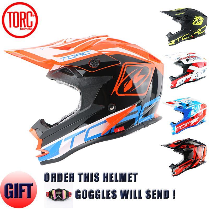 new torc brand motocross helmet off road downhill motorcycle helmets approved road racing helmet quality motorbike helmet t32