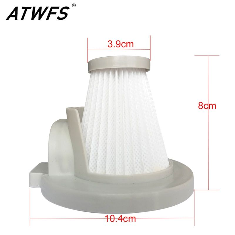 ATWFS Dedicated Vacuum Cleaner Parts Filter Dust Collector Accessories HEPA Filter