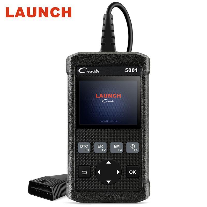 LAUNCH CReader 5001 OBDII/EOBD Diagnostic tool CR5001 Scanner On-board monitor test same update online auto diagnostic scanner