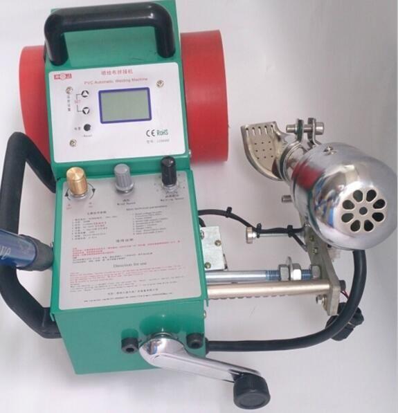 LC-3000C Druck tuch wärme nähte maschine, automatische laufende heißer luft banner schweiß maschine, PVC wasserdichte beschichtung nähte m