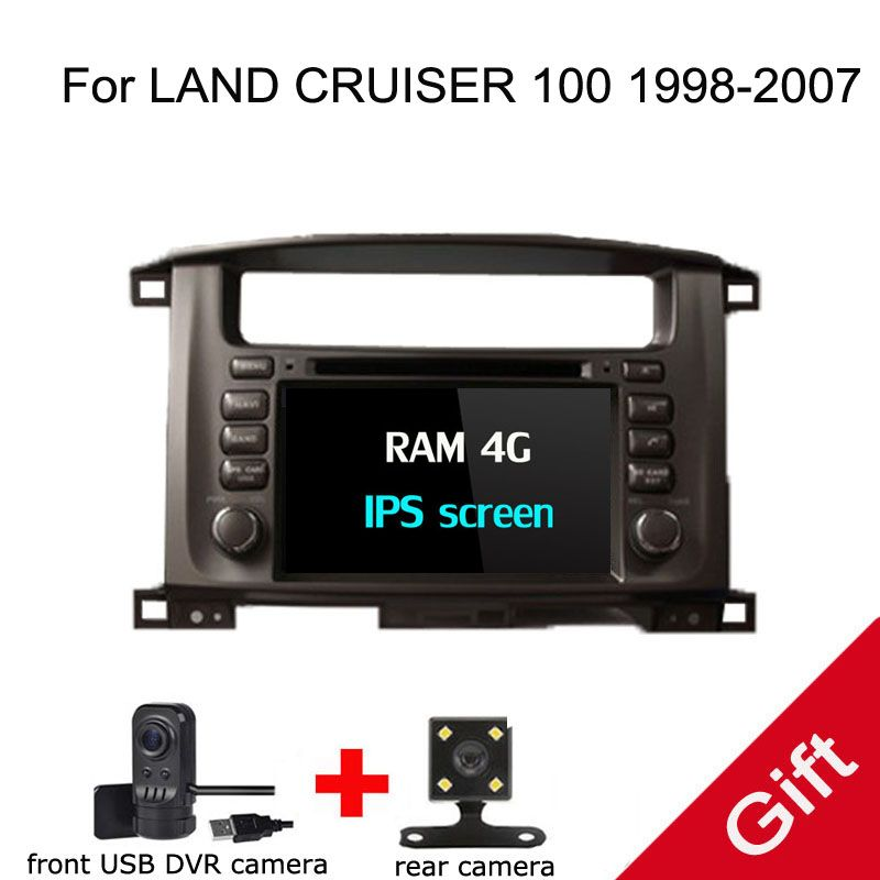 Android 8.0 PX5 Octa Core For Toyota LAND CRUISER 100 1998-2007 Car DVD Multimedia player GPS Navigation Autoradio dvd player