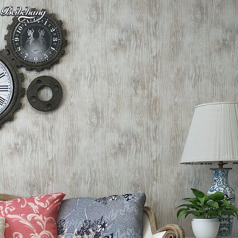 Puro papel Respetuoso Del Medio ambiente no tejido satinado beibehang simulación madera wallpaper wallpaper salón pared de fondo