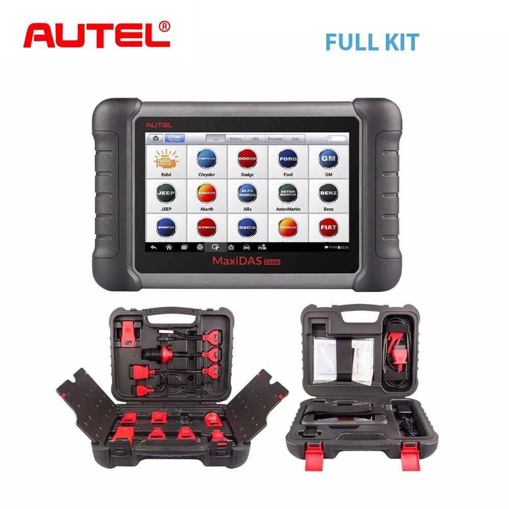 Autel MaxiDAS DS808K OBD2 Auto Scanner Diagnose Werkzeug OBD 2 EOBD Auto Diagnose Automotivo Scanner Besser als Starten X431