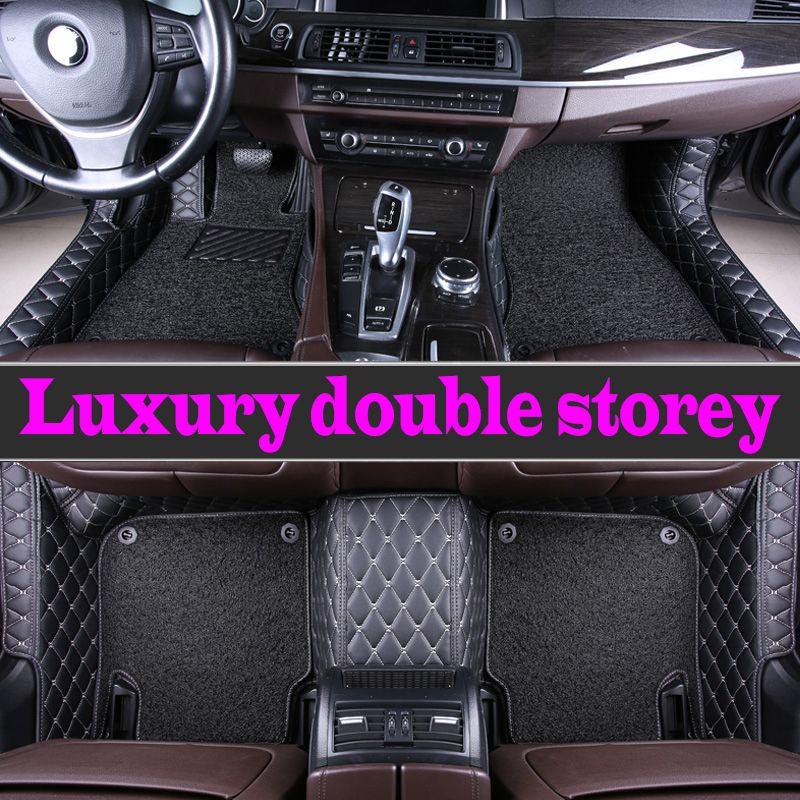 Auto fußmatten für Mercedes Benz GLA GLK GLC G ML GLE GL GLS EINE B C E S W204 w205 W211 W212 W221 W222 W176 liner