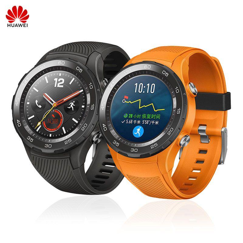 Huawei Uhr 2/Uhr 2 Pro Unterstützung SIM LTE 4G NFC GPS Smart Sport Uhr Herz Rate Tracker IP68 Wasserdicht Für Android ios