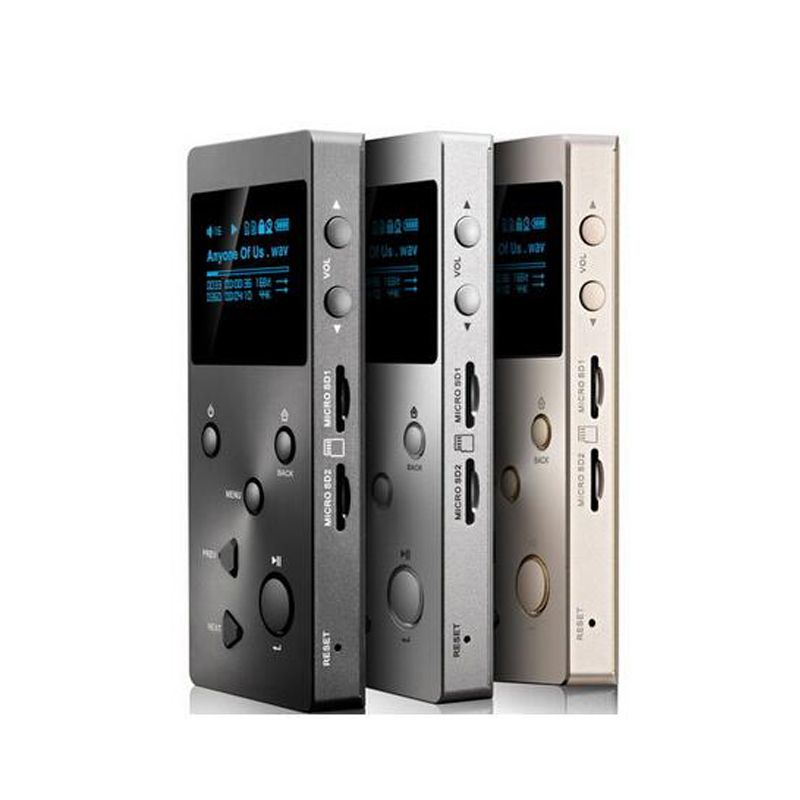 New XDUOO X3 Mp3 Music Player 256gb Professional Lossless digital mp3 Support /FLAC/WAVWMA/OGG/MP3 Dual SD Card Mp3 player