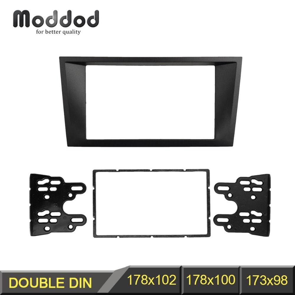 Double Din Fascia pour FORD Mondeo 2002-2006 CD Facia stéréo panneau tableau de bord montage installer kit d'outils pour habillage cadre de recharge