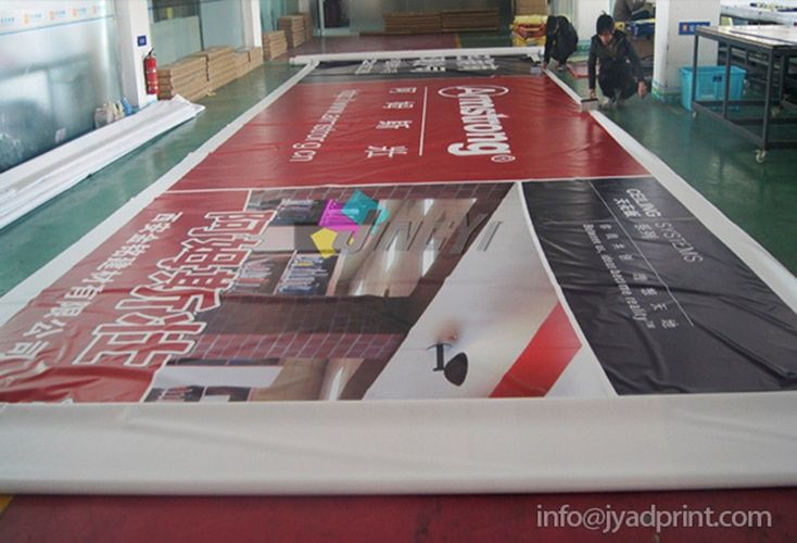 Outdoor PVC Vinyl Advertising Hanging Frence Big Banner, Custom Printing Huge Promotion Banner (with printing your artworks)