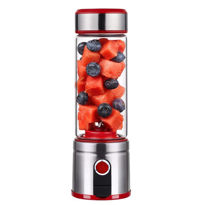Juicer Blender Portable Electric Juicer Mini Home Automatic USB Charging Small Student Juice Bottle Juice Machine