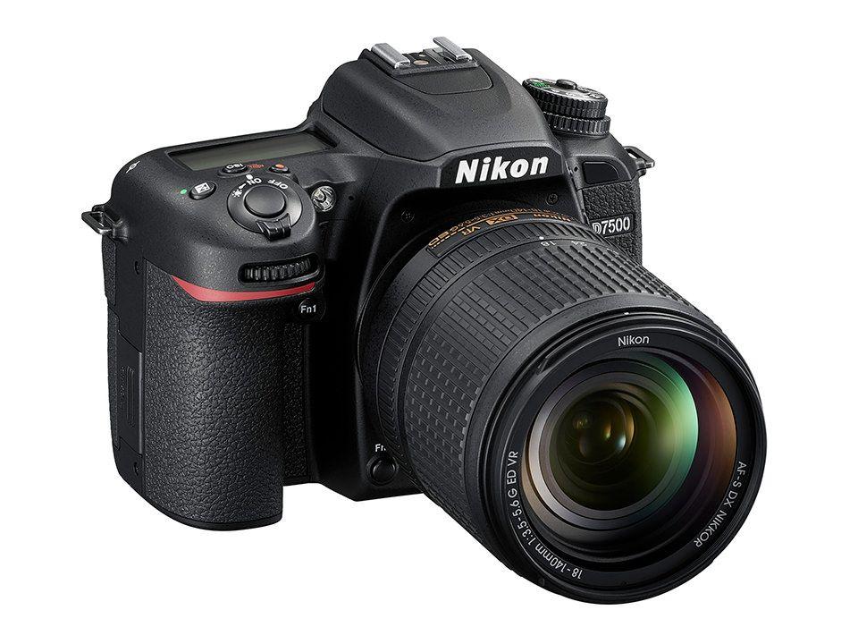Nikon D7500 DSLR Kamera Körper & AF-S DX 18-140mm f/3,5-5,6G ED VR objektiv