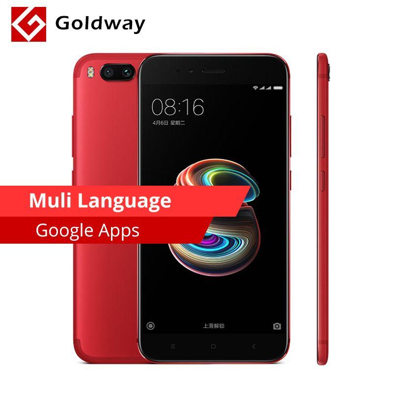 Original Xiaomi Mi 5X Mi5X 4GB RAM 64GB ROM Mobile Phone Snapdragon 625 Octa Core MIUI 5.5