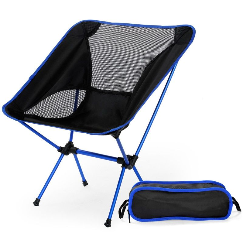 Outlife <font><b>Ultra</b></font> Light Folding Fishing Chair Seat for Outdoor Camping Leisure Picnic Beach Chair Other Fishing Tools