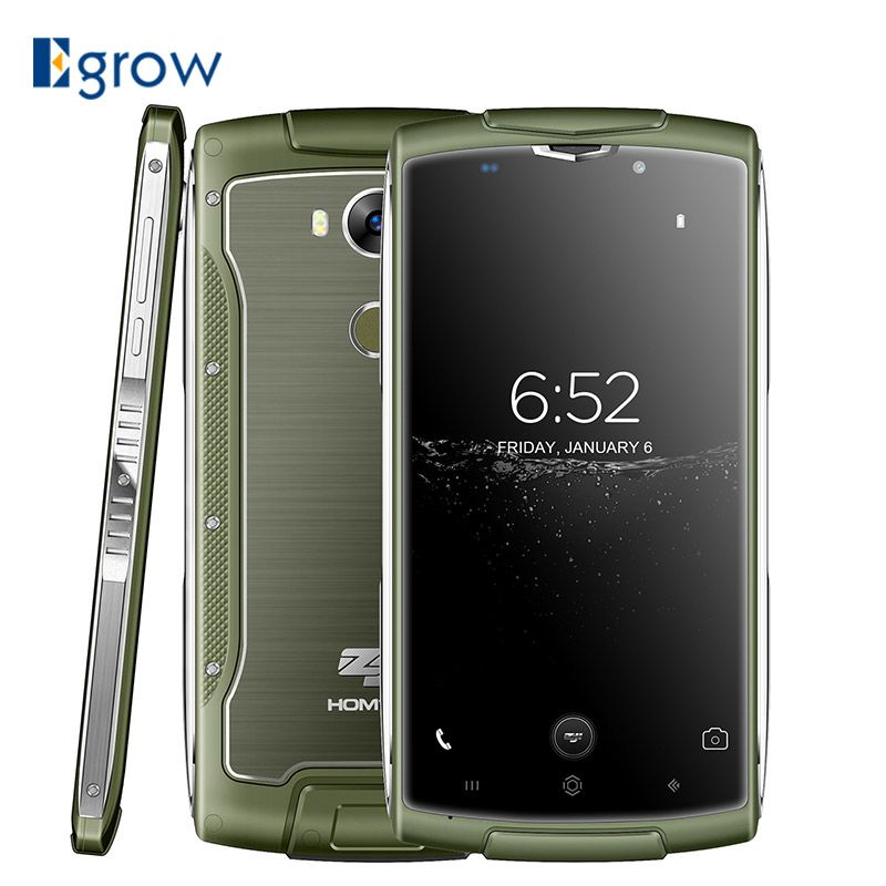 Original Homtom ZOJI Z7 2GB+16GB MTK6737 1.3GHz Quad Core 5.0 Inch Screen <font><b>3000mAh</b></font> Android 6.0 IP68 Waterproof 4G LTE Smartphone