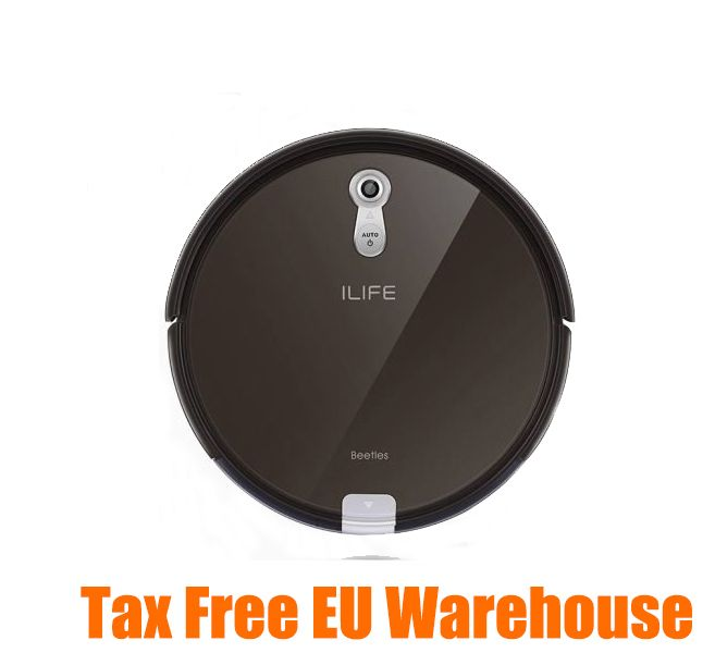 ILIFE A8 Smart Robot Vacuum Cleaner 2 in 1 for Home Dry Wet Water Tank brushless motor Intelligent Cleaning ROBOT ASPIRADOR
