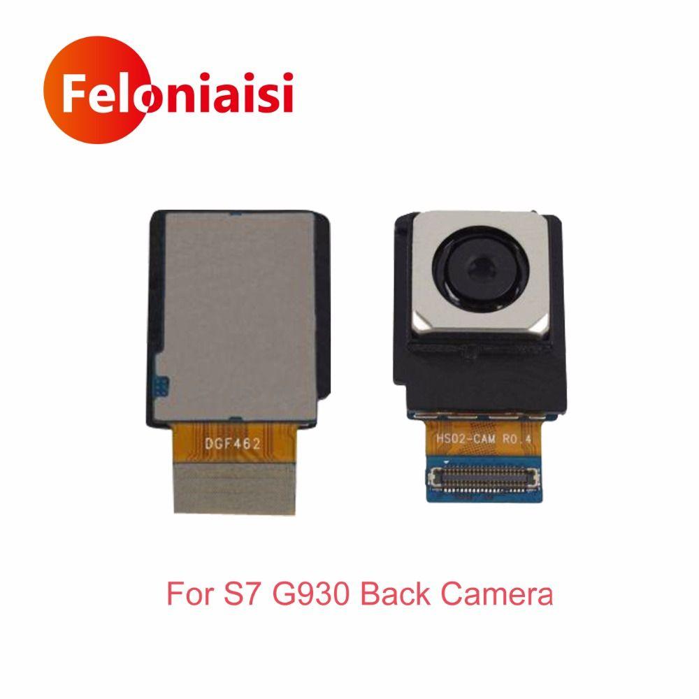 Hohe Qualität Für Samsung Galaxy S7 G930 EU Und UNS Version Rück Big Zurück Kamera Flex Kabel Haupt Kamera-modul teil