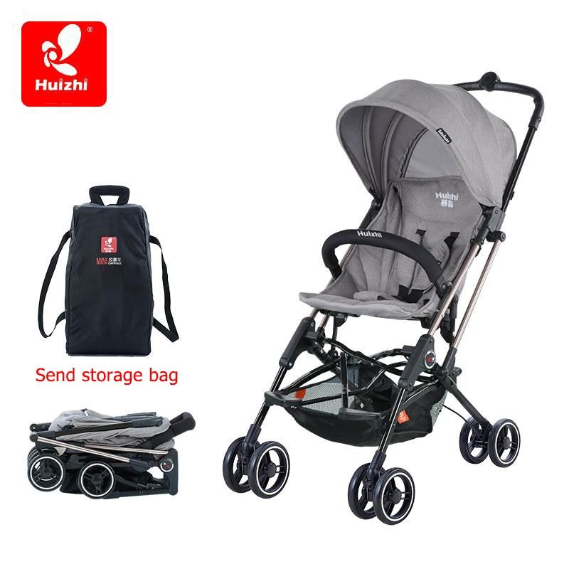 brand baby stroller light umbrella car four-wheel shock ultra-portable BB stroller folding baby carriages can be on plane