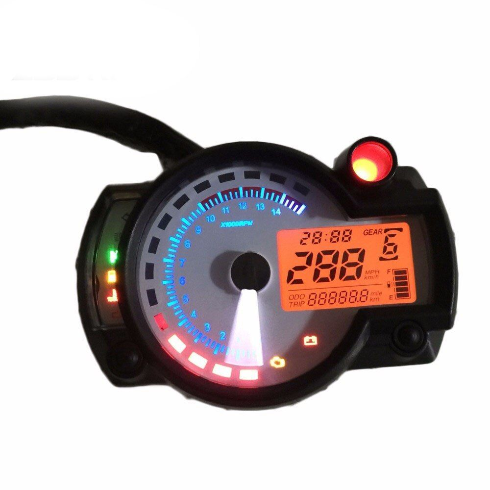 hot sale Motorcycle digital speedometer LCD meter KOSO RX2N model universal scooter modify MAX 299KM/H