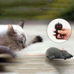 الماوس اللعب اللاسلكية RC الفئران القط لعب التحكم عن بعد كاذبة ماوس الجدة RC القط مضحك لعب الفأر لعب للقطط