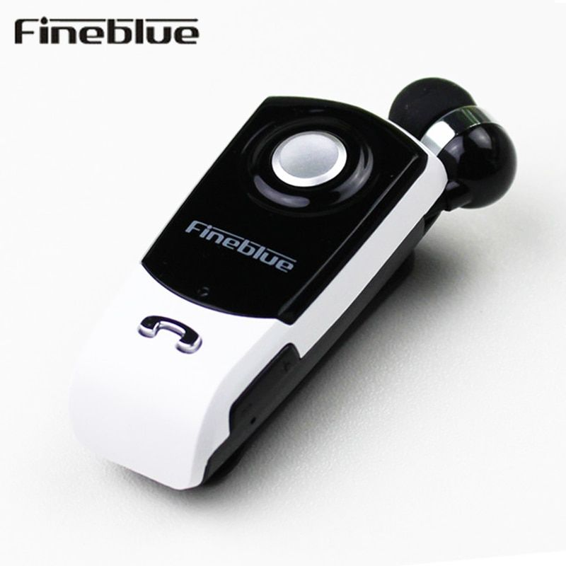 Fineblue F960 Bluetooth Earphone Wireless Handsfree Earbuds Headset with Microphone Calls Remind Vibration Wear <font><b>Clip</b></font> Driver