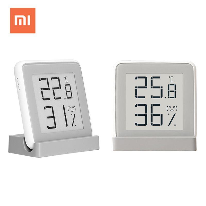 Xiaomi mijia digital <font><b>indoor</b></font> hygrometer thermometer weather station smart electronic temperature humidity sensor moisture meter