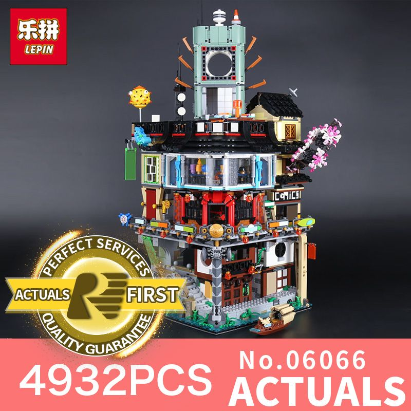 Stocked Lepin 06066 4932pcs Creative City Model Educational Building Blocks Bricks Kids Toys as Christmas Gift LegoINGlys 70620