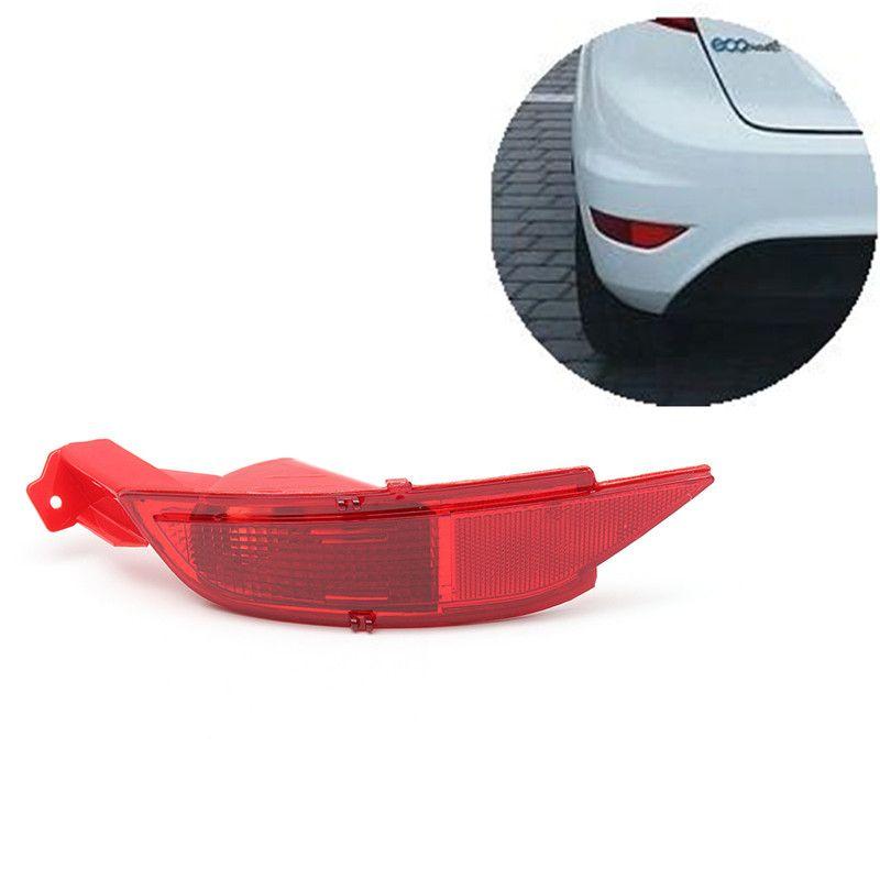 Автомобиль вправо/левой Хвост заднего бампера Отражатели лампы стоп сзади Противотуманные фары для Ford/Fiesta Mk7 2008-2012