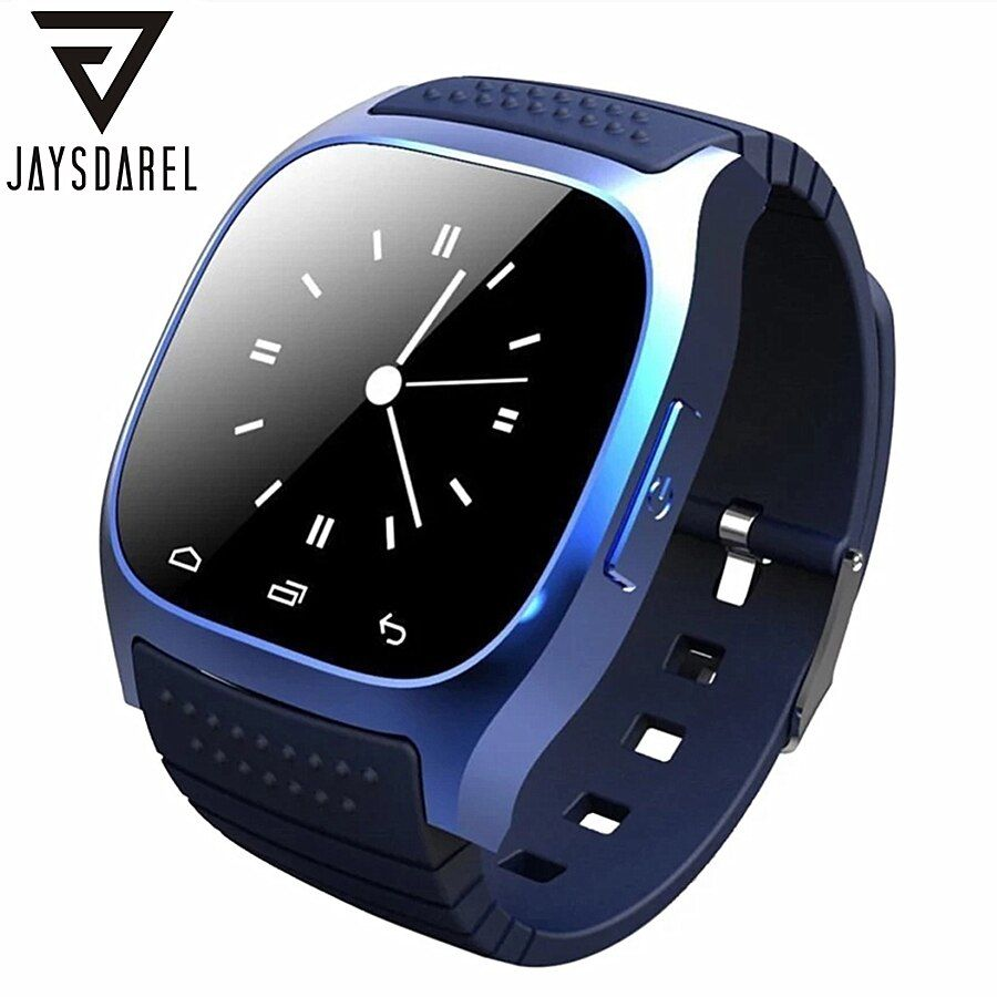 Jaysdarel M26 Bluetooth Смарт часы для Android IOS синхронизации Телефонный звонок шагомер анти-потерянный наручные SmartWatch PK gt08 dz09 gv18 u8