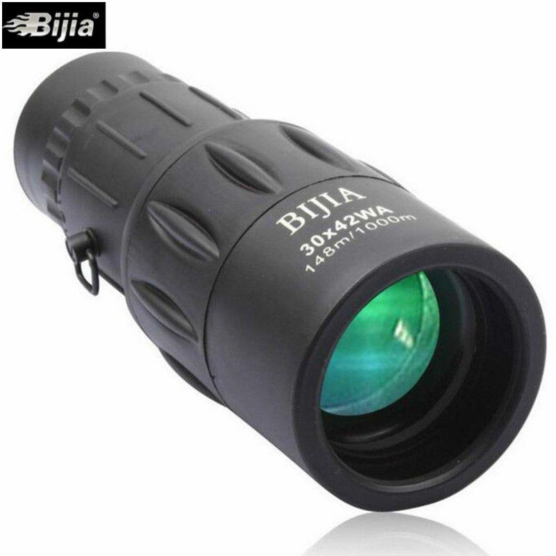 Bijia 30x42 High Power Binoculars Monoculo Optic Monocular Spyglass HD Spotting Scopes Professional Telescope theater binoculars