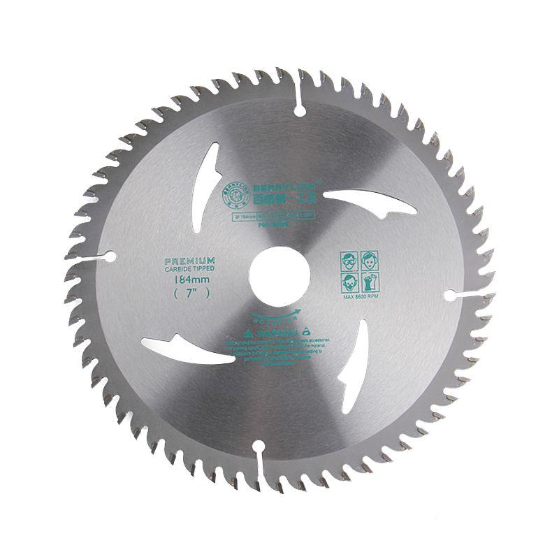 Circular Saw Blade 7''/184mm Alloy Steel 40/60 Teeth Wheel Discs For Cutting Wood Aluminum Iron Plate Power Tool