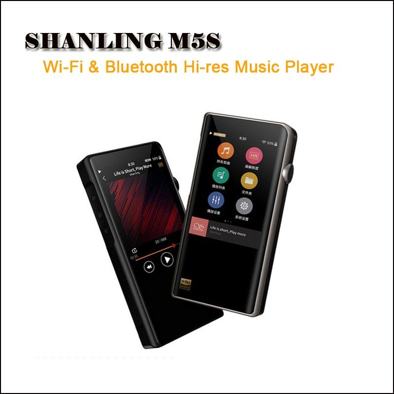 Shanling M5s Hi-res Mp3 Wifi Player Mp3 Player Bluetooth Mp3 Lossless Hifi Music Player DAC Flac WAV Portable Reproductor DSD256