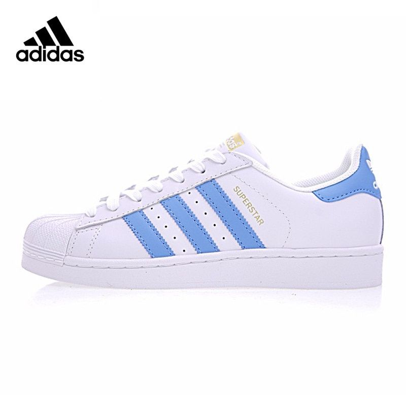 Original New Arrival Authentic Adidas SUPERSTAR Gold Standard Clover Men and Women Skateboarding Shoes Sneakers