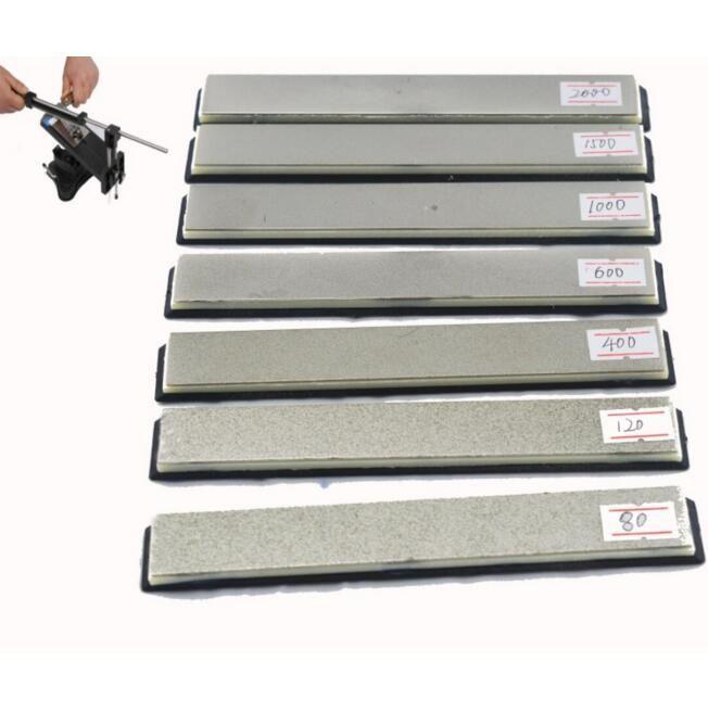 Kitchen knife Apex edge sharpener replacement diamond whetstone grinding stone ,sharpening system 80-2000 Dimond stone 5.9