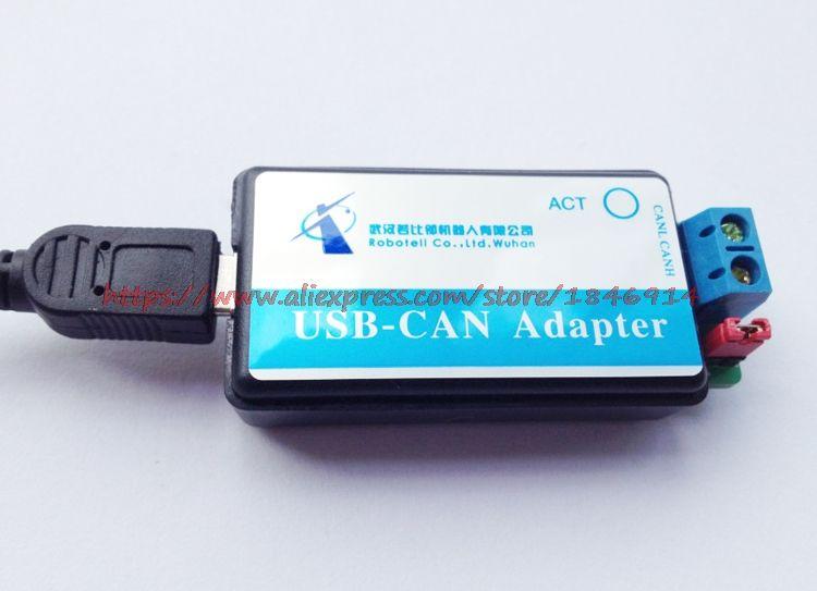Livraison gratuite CAN Bus Analyseur USB CAN USB-CAN débogueur/adaptateur/communication/convertisseur