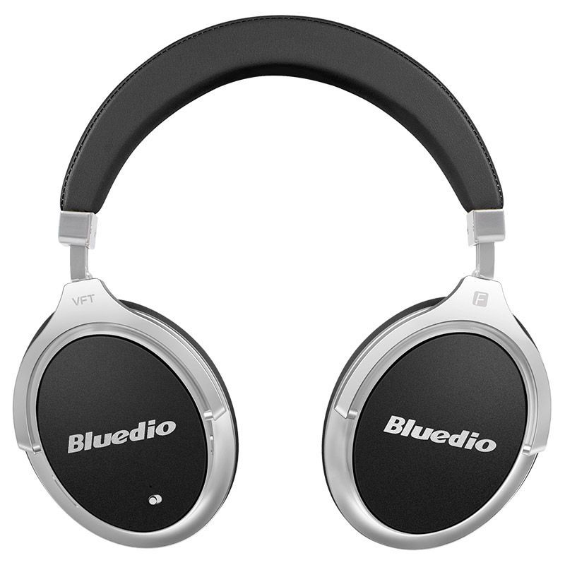 Bluedio F2 Active Noise Cancelling Wireless Bluetooth Headphones Rotatable Over Ear Headphone With Soft Ear Pad For Mobile Phone