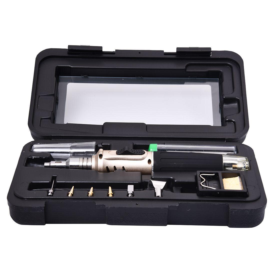 Kit de fer à souder au gaz Butane professionnel LIXF Kit de soudage torche pompe à dessouder HS-1115K