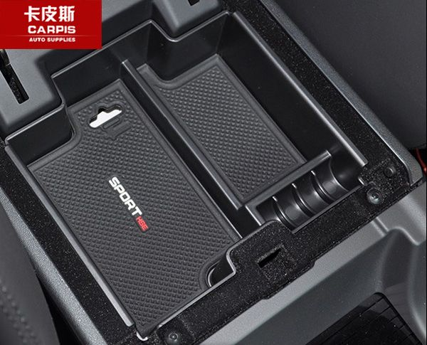 Car Central Storage Box Door Glove Armrest Organizer Box For Land Rover Discovery Sport 2015 2016 2017 2018 Car Styling