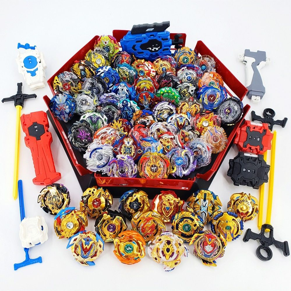 All Models Launchers Beyblade Burst Toys With Starter and Arena Bayblade Metal  God Spinning Top Bey Blade Blades Toys