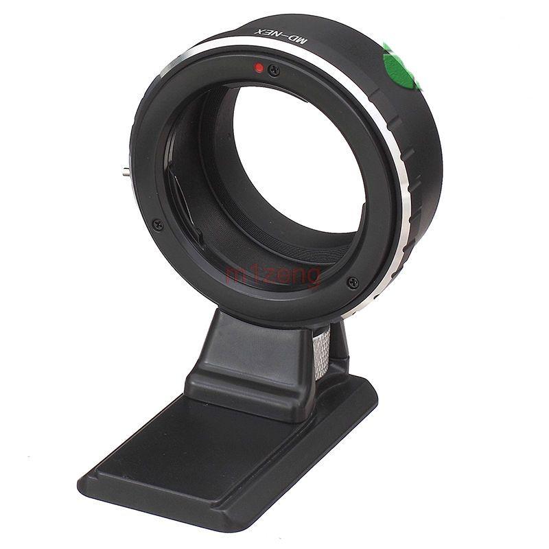 Adapter ring mit stativ für minolta md mc objektiv sony nex a5100 a6000 a6300 a6500 NEX3/5N/7/ 6/5R a7 a9 a7r2 a7s kamera
