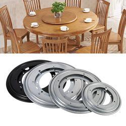 Сверхмощная круглая форма оцинкованная Lazy Susan поворотный стол вращающийся подшипник поворотная пластина для кухонных шкафов Tabe поворотная...