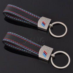 En cuir De Voiture Porte-clés Porte-clés Auto Porte-clés Porte-clés Porte-Pour BMW M Tech M3 M5 X1 X3 X5 E46 E39 E60 E90 E36 Puissance De Voiture style